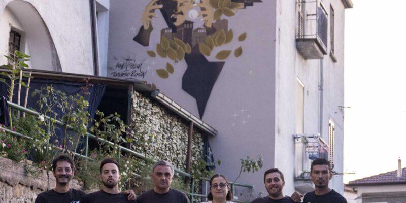 A Savoia di Lucania il murales di Giovanni Passannante