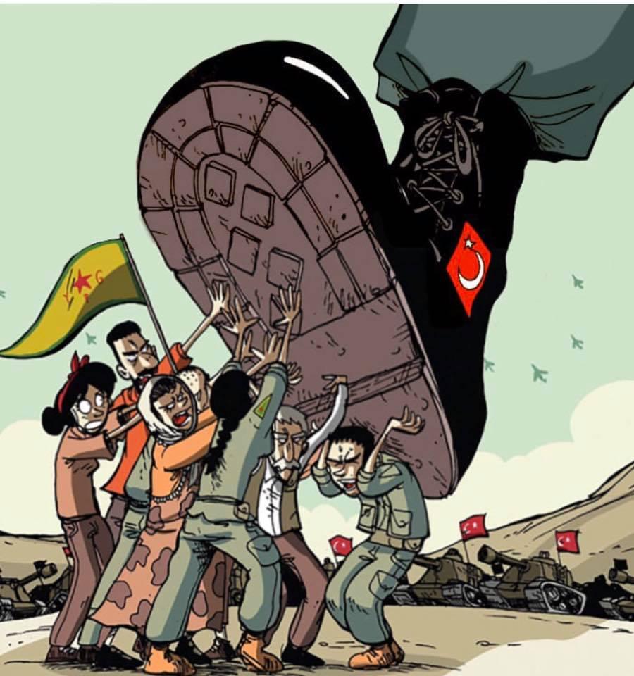 Ok di Trump all'invasione turca del Rojava. L'appello delle Ypj