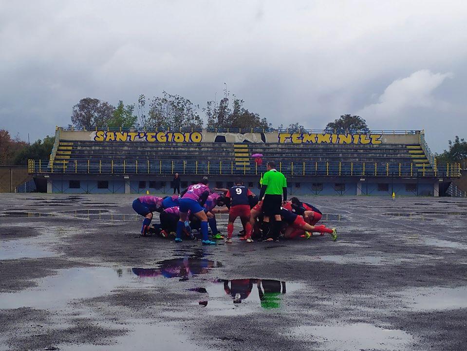 Serie C rugby: pareggio per il Rugby Rende ospite dei Baliano Tiles Amatori