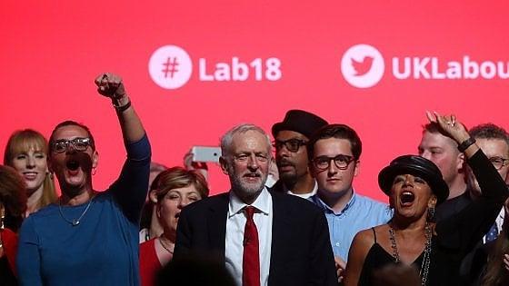 Qualcosa di sinistra, effetto Corbyn
