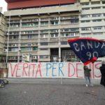"""Omicidio Bergamini, in centinaia davanti al porto delle nebbie per """"stoppare"""" gli abusi contro Facciolla"""