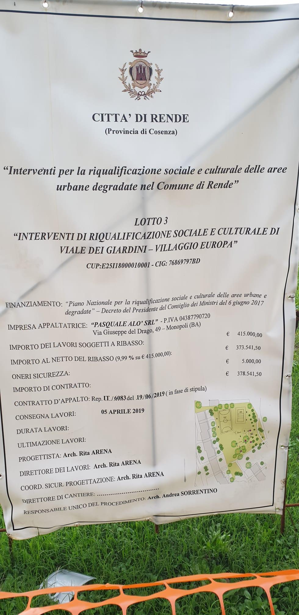 """Midulla (Fed. Riformista): """"a Villaggio Europa solo promesse"""""""