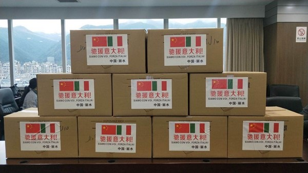 La Rep Ceca sovranista sequestra un carico di 680.000 mascherine destinate all'Italia (gli amici di Salvini)