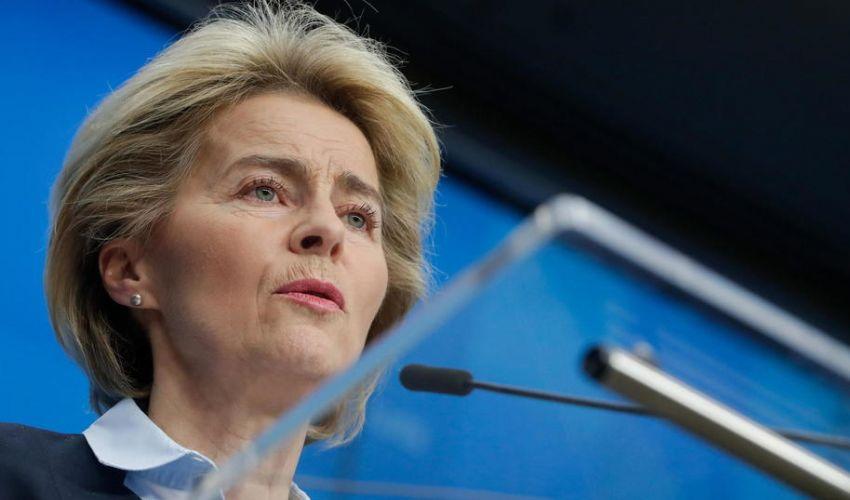 """Coronavirus, von der Leyen annuncia: """"sospeso il patto di stabilità"""""""