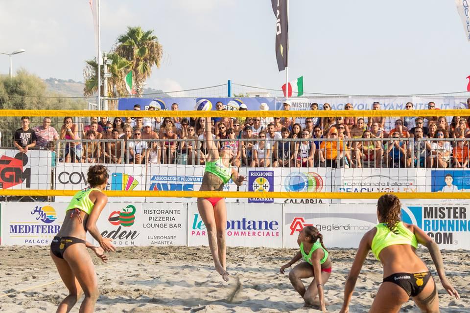 Torna in campo il beach volley ad Amantea