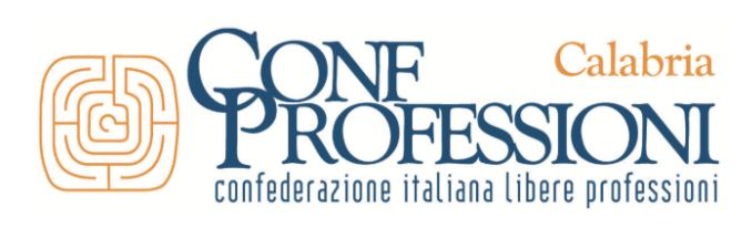 Confprofessioni Calabria: proposte concrete per scuola e smart working