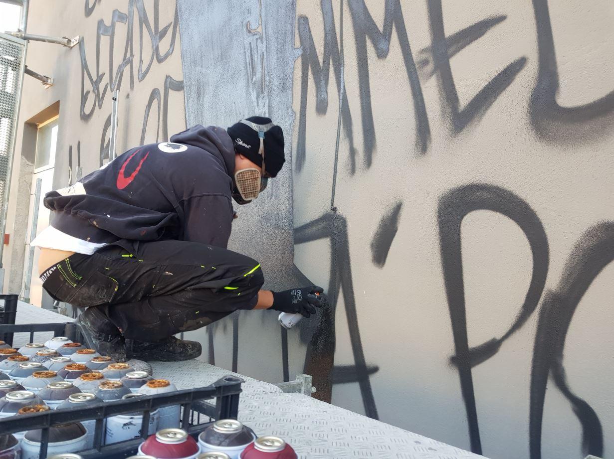 Jorit, il murales e le vere esigenze di Villaggio Europa