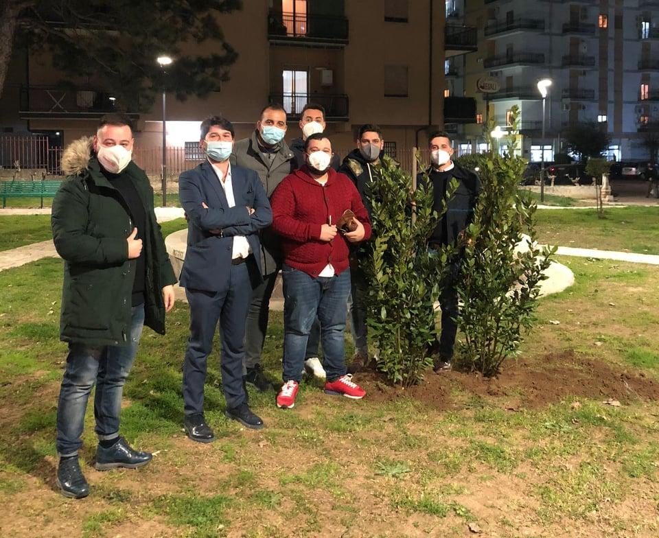 Rende: Il Rotaract Club Rende contribuisce ad una città sempre più green