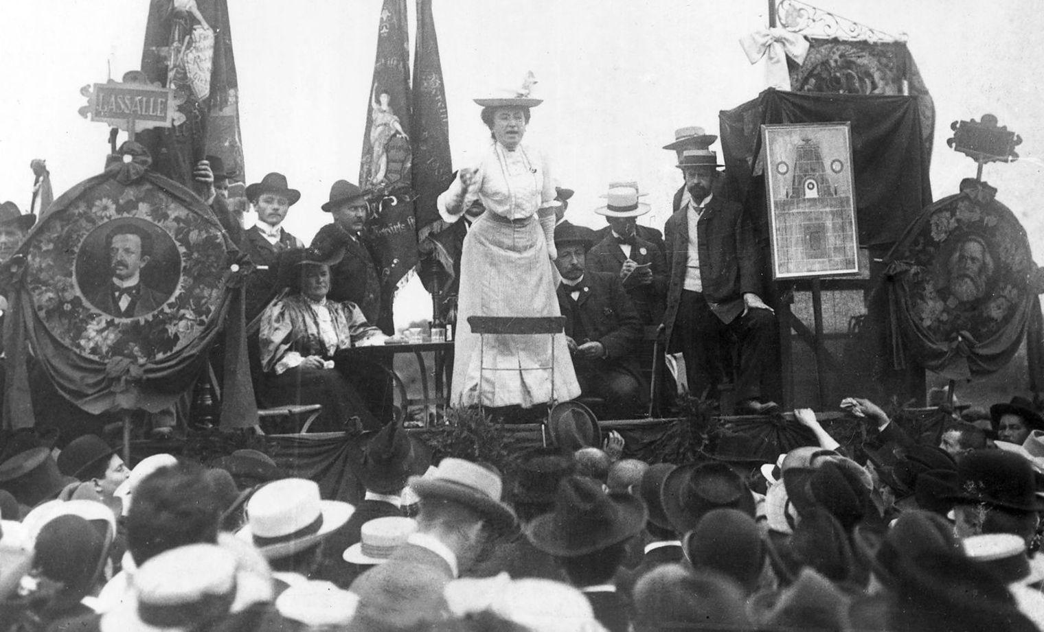 Il 5 marzo 1871 nasce la rivoluzionaria Rosa Luxemburg