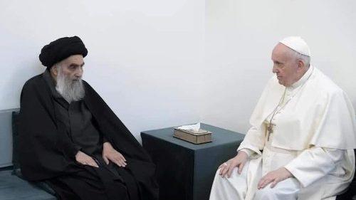 """Papa Francesco in Iraq: """"Il terrorismo è un abuso della religione, l'estremismo e la violenza sono il tradimento"""""""