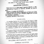 19 aprile 1937: L'Italia fascista promulga la prima legge razziale.