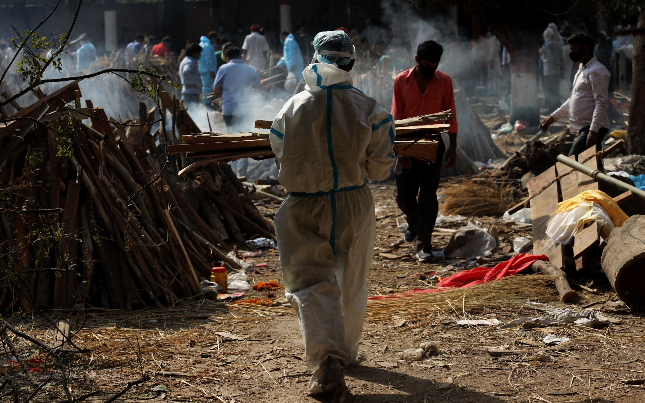 Covid, India, superate le 200 mila vittime