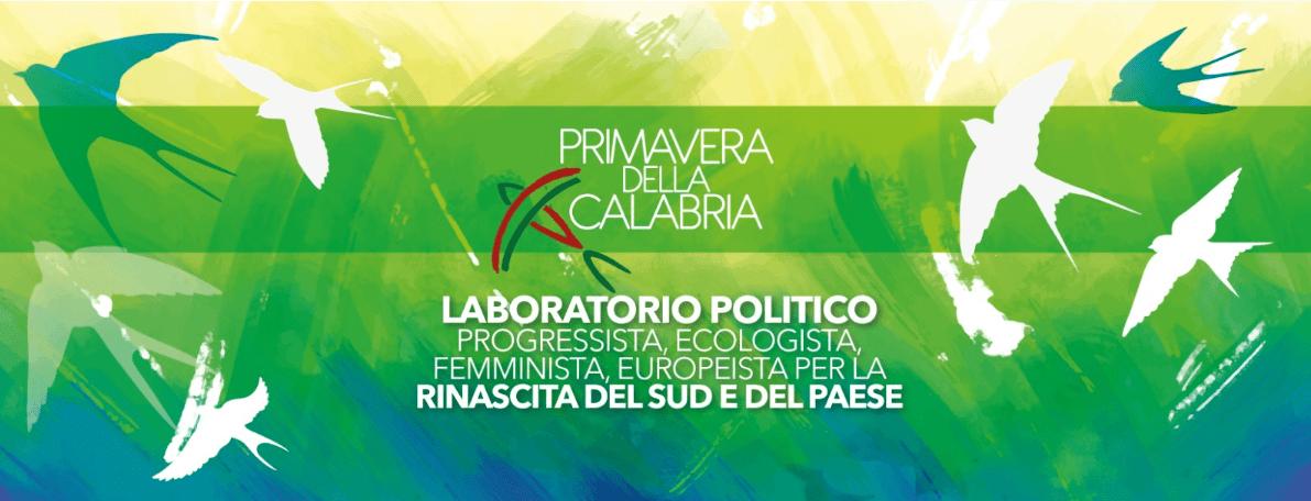 """""""Primavera della Calabria"""", il laboratorio politico calabrese che guarda alla regionali e all'Italia!"""