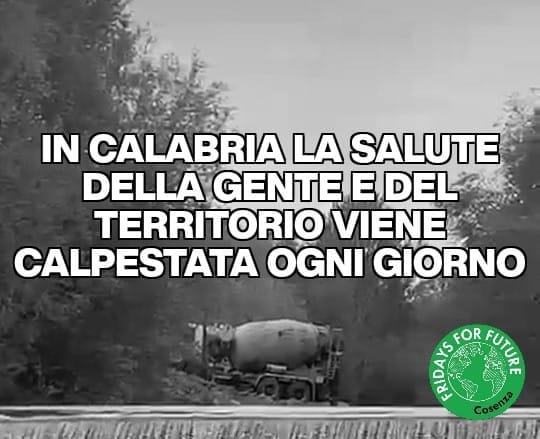 """Calabria, Fridays For Future: """"la salute della gente e del territorio calpestata ogni giorno"""""""
