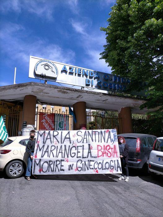 """Cosenza, FEM.IN: """"Mariangela poteva essere salvata, la Sanità calabrese deve cambiare"""""""