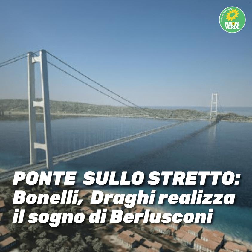 """Europa Verde: """"Ponte sullo stretto, impatto ambientale devastante"""""""