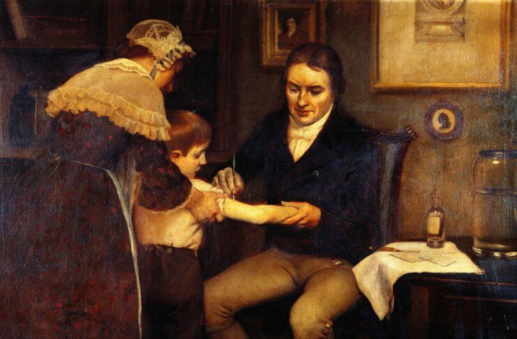 14 maggio 1796. Il medico Edward Jenner somministrava la prima vera vaccinazione contro il vaiolo