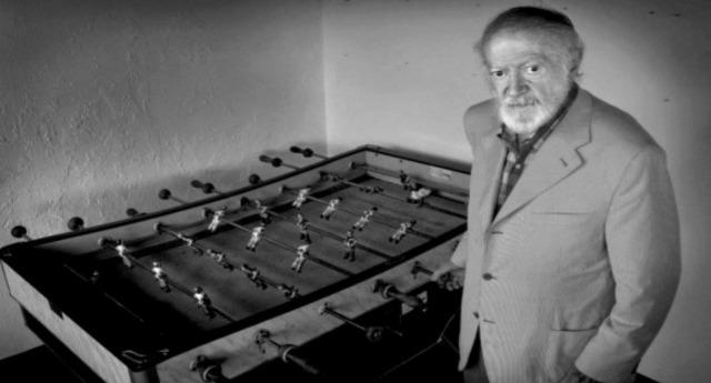 Alejandro Finisterre l'inventore del biliardino che giocò con Che Guevara