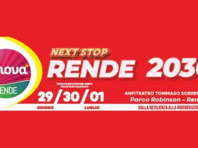 Next Stop Rende 2030, l'evento di Innova per immaginare il futuro della città