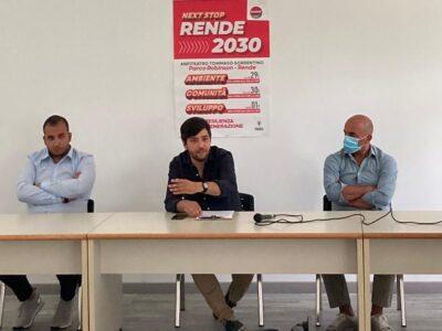 "Innova Rende presenta il ""Next Stop Rende 2030"""
