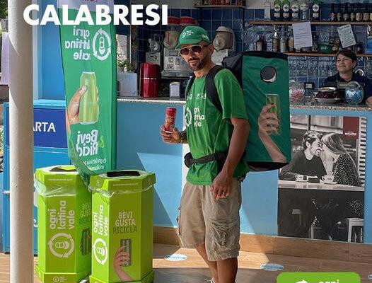 """Calabria: """"Ogni Lattina Vale"""" parte l'iniziativa di sensibilizzazione della raccolta differenziata nei parchi marini calabresi"""
