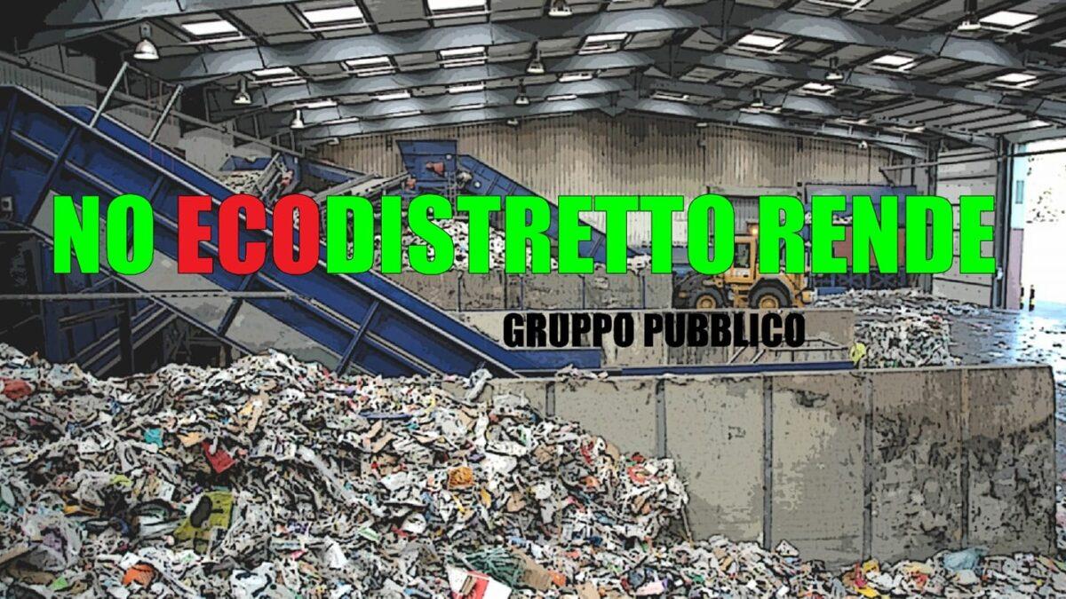 """Ecodistretto a Rende, continua la protesta:"""" L'eco delle loro Bugie"""""""
