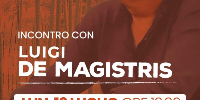 Rende: Incontro all'UniCal con il candidato Luigi De Magistris
