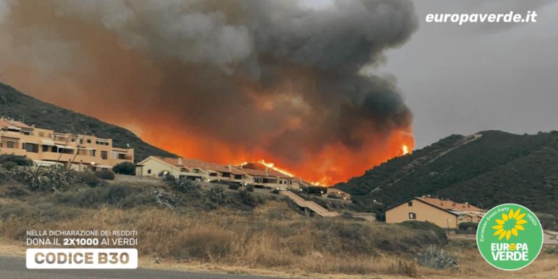 Europa Verde: Incendi in Sardegna, presenteremo esposto