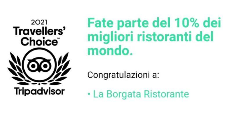 Rende: Il ristorante La Borgata premiato fra i migliori ristoranti al mondo