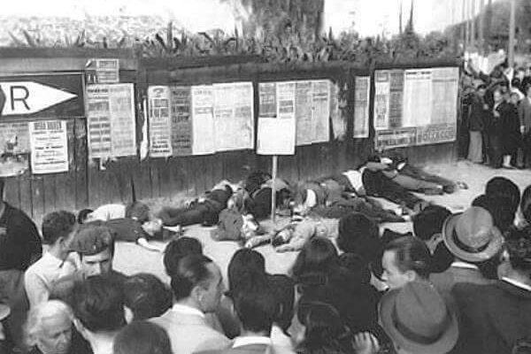 Il barbaro eccidio di piazzale Loreto, fascisti e assassini (Milano 10/08/1944)
