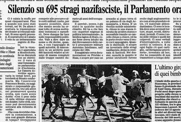 L'eccidio di Sant'Anna di Stazzema: la strage nazifascista che uccise donne e bambini