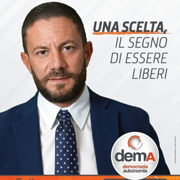 Calabria 2021: Felice D'Alessandro si candida a sostegno di De Magistris. Lista demA