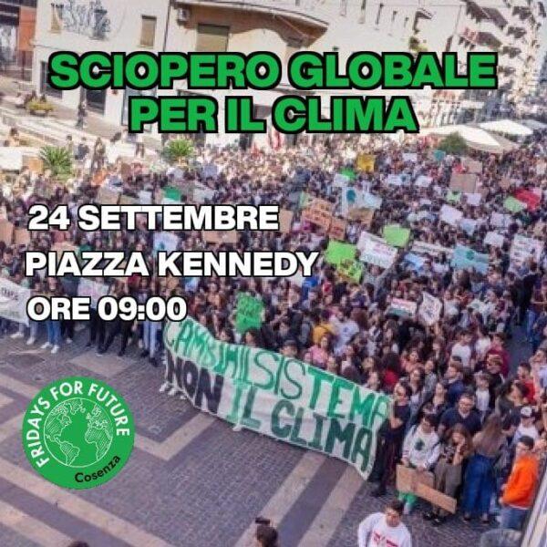 Fridays For Future: il 24 settembre torniamo a scioperare per il clima