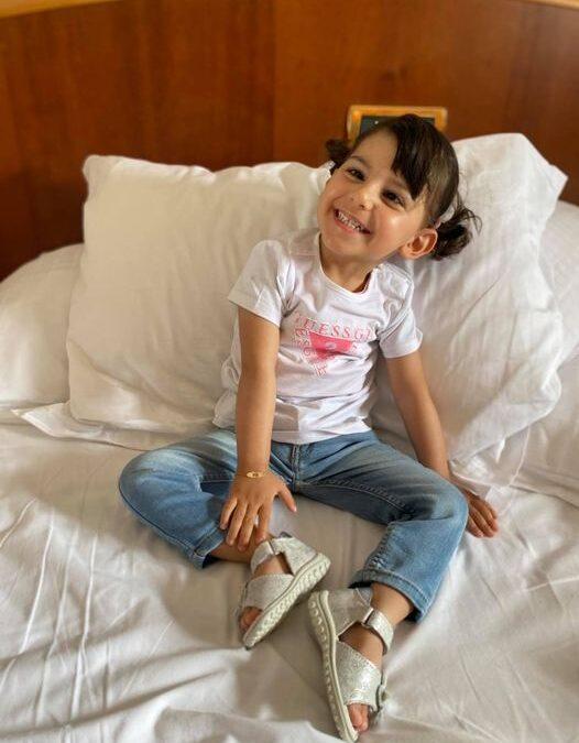 """Sosteniamo la raccolta fondi """"le ali di Silvia"""". Aiutiamo la piccola Silvia a combattere la sua rara malattia"""