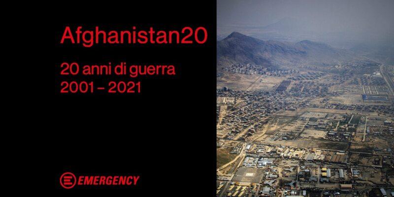 """Afghanistan20"", Emergency racconta 20 di guerra dalla parte delle vittime"