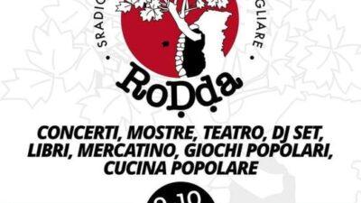 """Il 9 e 10 ottobre ritorna """" A'Rodda """" la festa popolare di Cosenza vecchia"""